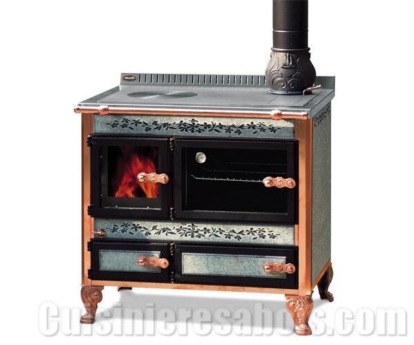 pas cher pour réduction fae86 8b4b6 Cuisinière à bois bouilleur Wekos 90
